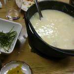 よしみ - 鶏雑炊