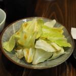 串ザンマイ - キャベツ盛り