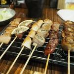 串ザンマイ - 串盛り6本