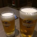 77024342 - 生ビール大と中