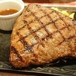 カタマリ肉ステーキ&サラダバー にくスタ - ランプステーキ 400g