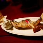 龍洞 - 岩魚の塩焼き