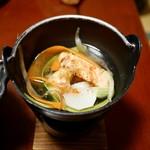 龍洞 - 姫鱒の和風ポトフ鍋