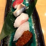 さかなや道場 - 握り寿司5貫