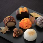 Shogetsu - 料理写真:名付けて「里山の秋」