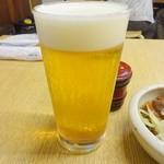 あべちゃん - 生ビール(中)