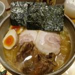麺屋 音 別邸 - 特製 生姜鶏白湯980円