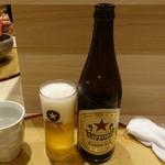 麺屋 音 別邸 - 瓶ビール500円