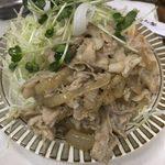 キッチン南海 - 「しょうが焼」250円