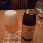 ダイニングキノシタ - 瓶ビール