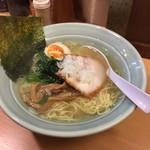 溝ノ口野郎 - あっさり煮干し塩ラーメン