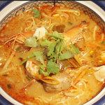 トムヤムクン麺(お米の麺or中華麺)★★