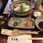 とうふ処 豆雅傳 - 湯豆腐セット