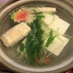 とうふ処 豆雅傳 - 湯豆腐