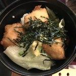 とうふ処 豆雅傳 - 豆腐のから揚げ丼(ミニ)