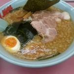 ラーメン山岡家 - プレミアム醤油トンコツ  味玉 チャーシュートッピング