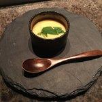 ステーキハウス ミディアムレア - ズワイガニの茶碗蒸し
