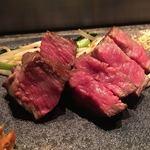 ステーキハウス ミディアムレア - 神戸牛サーロイン80g
