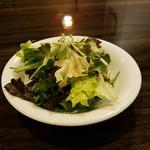 ボア・セレスト 牛タン焼 - サラダ