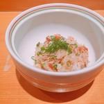 Shigeru - ★9セイコガニの蒸し寿司