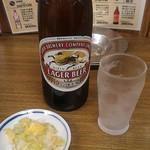 三ちゃん食堂 - 瓶ビールといえばこれ600円