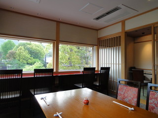 うなぎ屋 廣川 - 2階の予約席
