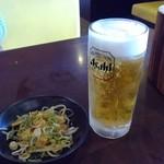 下町の空 - 生ビール