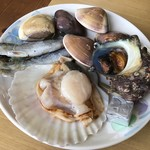 焼蛤 浜茶屋 向島 - 本蛤セット