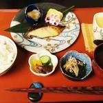 日本料理簾 - 銀鱈西京焼き 1,400円