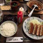 百年亭 - えびカツ定食