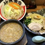 竹本商店☆つけ麺開拓舎 - 伊勢海老つけ麺+野菜