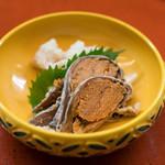 割烹 やました - 2017.11 鮒寿司(1,500円)