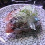金太郎寿し - 鯵130円税別
