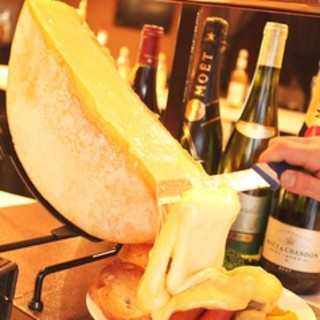 【パルメザンチーズパスタ&ラクレットチーズ料理】