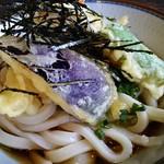 さぬきうどん讚州 - 天ぷらアップ