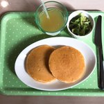 トランプ カフェ - キッズメニューのパンケーキ(生クリームとソース抜き)