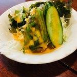 ダウラギリ - セットのサラダ
