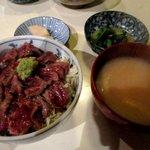 小料理野本 - 和牛ステーキ定食!