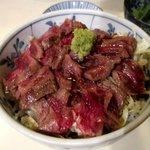 小料理野本 - 柔らかくて美味しいステーキ!