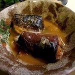 小料理野本 - 良い塩梅のサバの味噌煮!