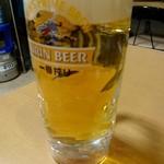 平壌冷麺食道園 - 生ビール