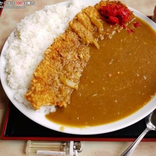 <民宿>しをみ食堂 - 料理写真:カツカレーライス