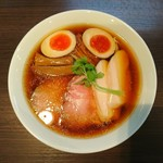 らぁ麺 紫陽花 - 2017年11月 特製醤油らぁ麺 980円