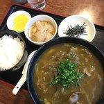 もとなり - 料理写真:カレーうどん定食