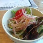 東福寺野倶楽部 - セットのサラダ。