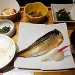 えん - 本日のお魚料理(鯖の西京焼)