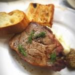 バー&グリル - 三元豚のローストポーク(パン付)