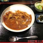 あぶり家 黒枝 - 牛カルビカレー \1100(税別)