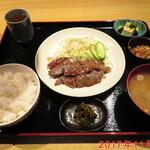 あぶり家 黒枝 - 焼肉定食 \1350(税別)