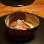 77057957 - 九絵、赤貝、横輪の造り